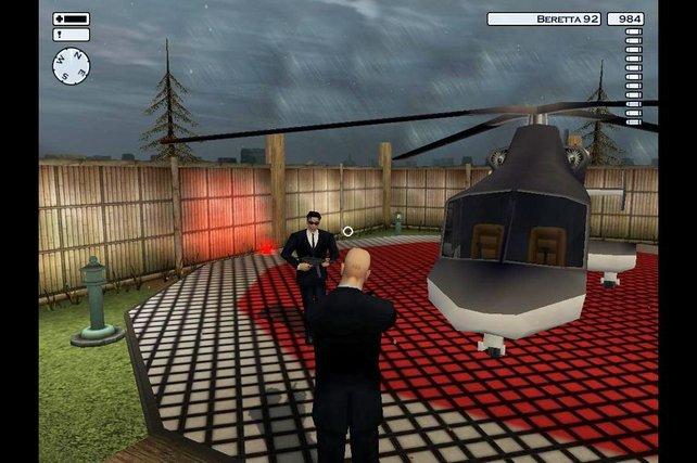 In Silent Assassin können Spieler zum ersten Mal in Aufträgen speichern.