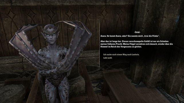 Die Geschichte von The Elder Scrolls Online wird vor allem durch die gut geschriebenen und vollvertonten Dialoge erzählt.