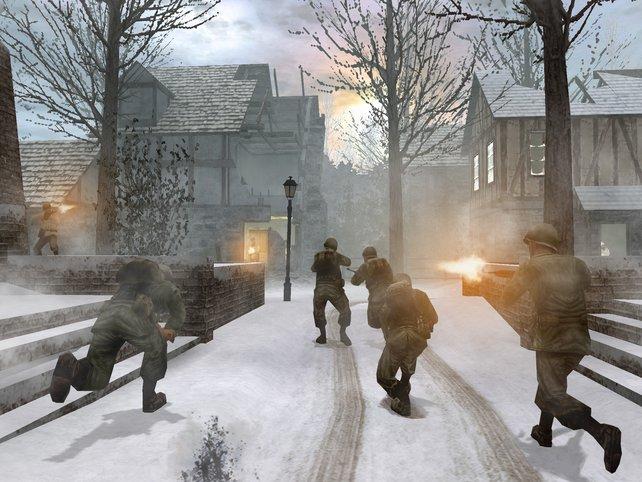 """Als Soldat der """"Fighting 1st""""-Einheit bestreitet ihr actiongeladene Missionen."""