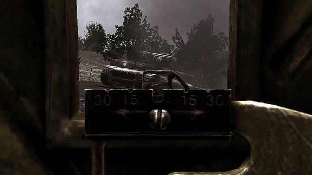 Die Kämpfe gegen Panzer sind unverhältnismäßig schwer.