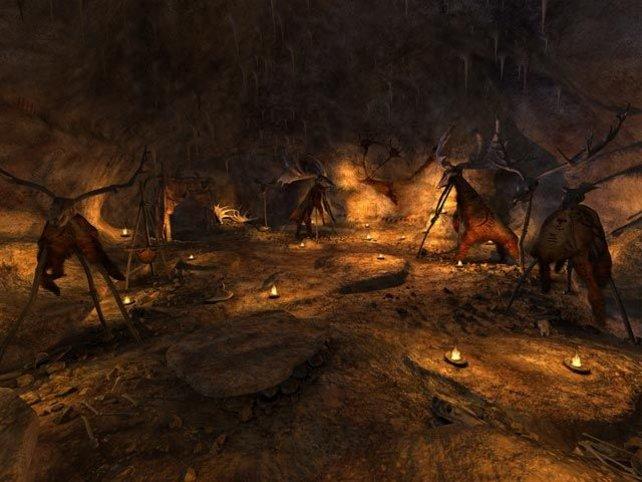 Ein Höhlenlager