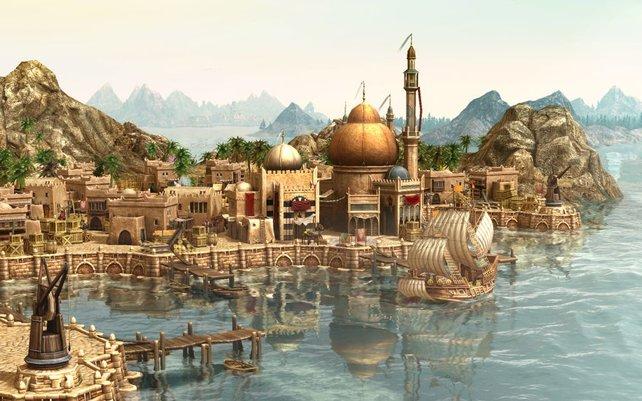 Viele Jahre mußten wir drauf warten - der Orient als neue Kultur