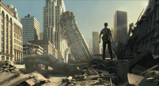 Nach dem Beben: 6 Tage später muss Adam ums Überleben kämpfen.