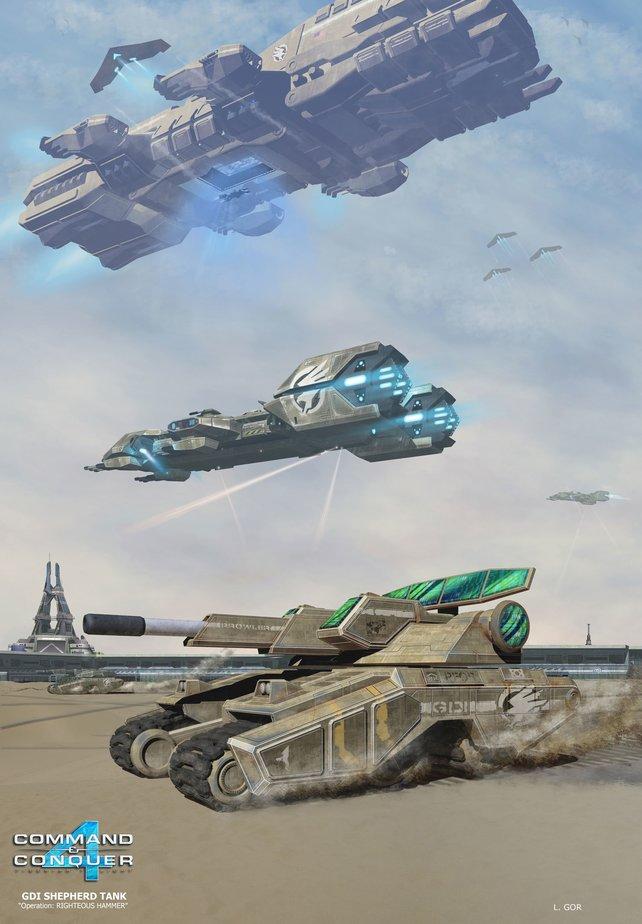 Der Shepherd Panzer.
