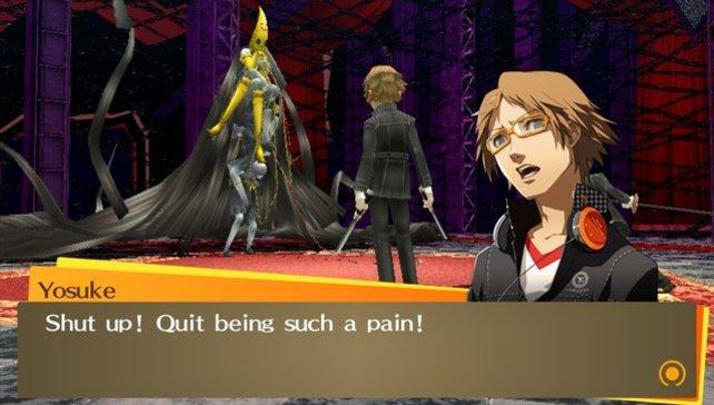 Mitstreiter Yosuke stellt sich seinem größten Feind.
