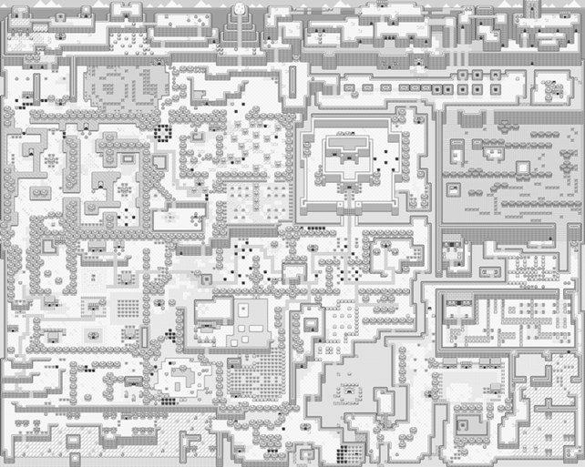 Mitte der Neunziger erscheinen mehrere Game-Boy-Spiele mit riesigem Umfang - hier zum Beispiel Zelda - Link's Awakening.