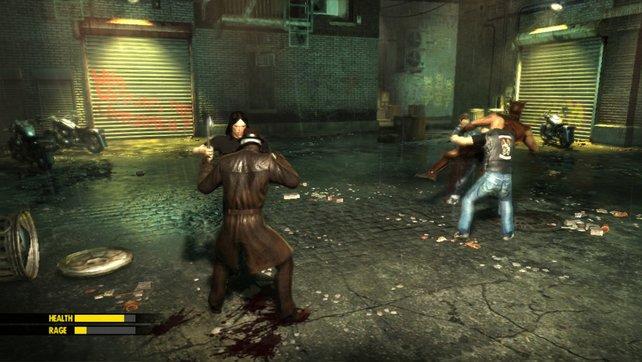 Die Anzeigen im Spiel sind dem Stil des Hollywood-Films nachempfunden.