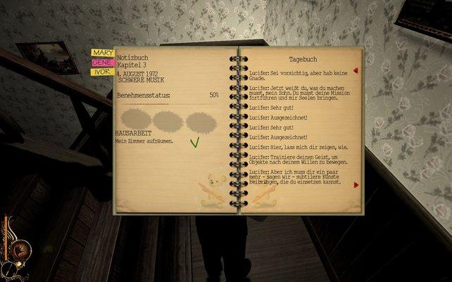 Euer Tagebuch gibt euch nützliche Tipps.