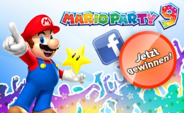 Eine Party mit Nintendo und Mario Party 9 - wer will sie feiern?
