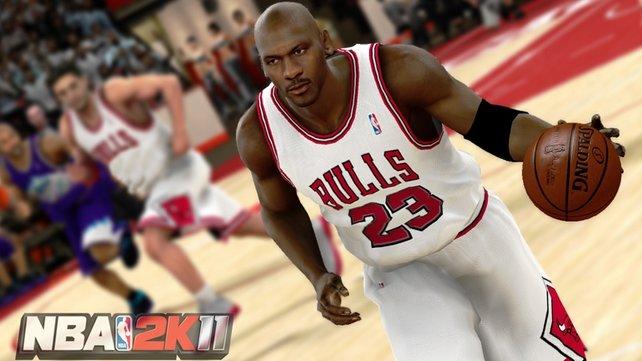 Ein Mann, eine Zahl, eine Legende. Nummer 23 der Chicago Bulls, Michael Jordan.