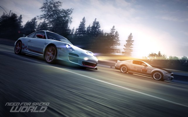 Rasante Fahr-Action im kostenfreien Need for Speed: World.