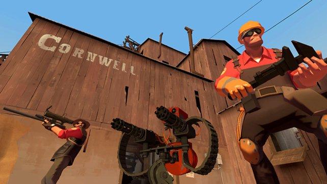 Team Fortress 2 ist ein Mehrspieler-Shooter mit Rollenspiel-Elementen. Der Vorgänger ist neben Counter-Strike einer der ältesten Titel, den Steam-Betreiber Valve selbst entwickelt hat.