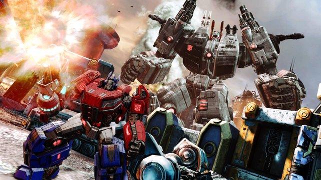 Untergang von Cybertron soll zeigen, wie großartig Transformer-Spiele sein können.
