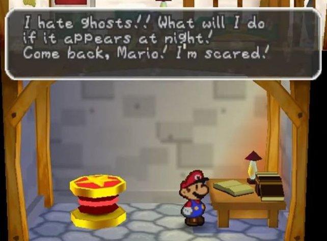 Nicht gerade die feine Art: Mario stöbert heimlich in Luigis Tagebuch.