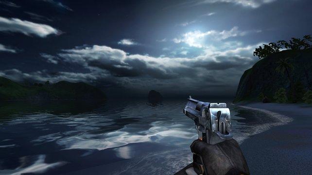 Die Konsolen-Grafik von Far Cry bietet weniger Details als die Original-Version aus dem Jahr 2004.