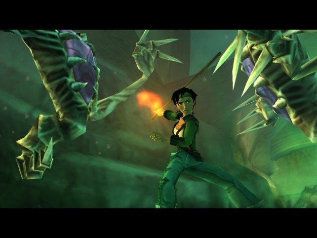 Jade im Kampf gegen die Domz