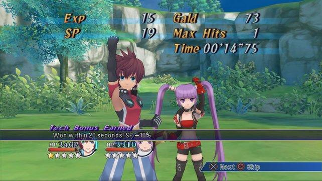 Auch hier pflegen die Entwickler den Tales-typischen Anime-Stil.