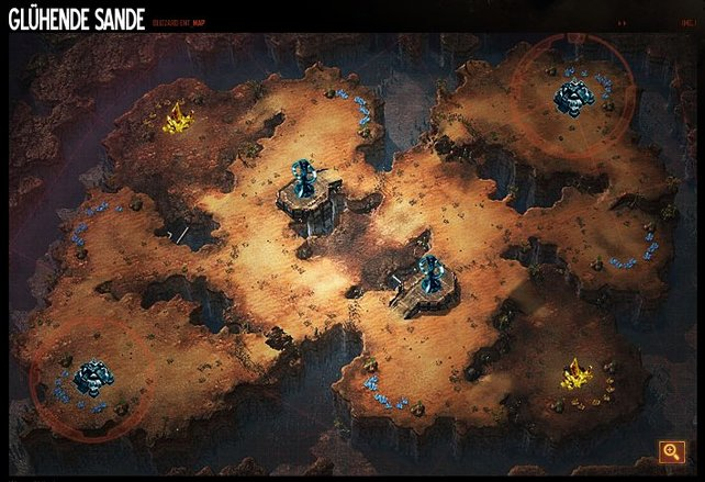 "1vs1-Map Glühende Sande (""Blistering sands"")"