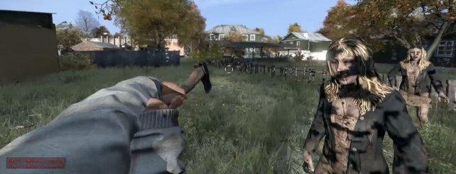 Day Z: Alpha-Video zeigt Zombie-Kämpfe, Inventar und viele Fehler