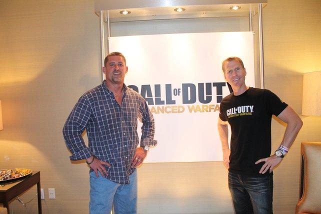Michael Condrey und Glen Schofield von Sledgehammer Games