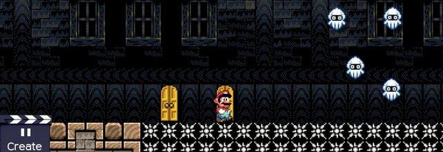Jetzt kann Mario nichts mehr aufhalten.