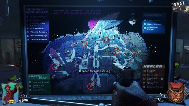 Wollt ihr den Strom einschalten, müsst ihr diese fünf Orte in Zombies in Spaceland aufsuchen.