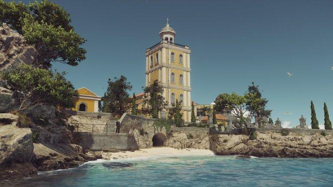Idyllisch: Die am Meer gelegene italienische Stadt Sapienza
