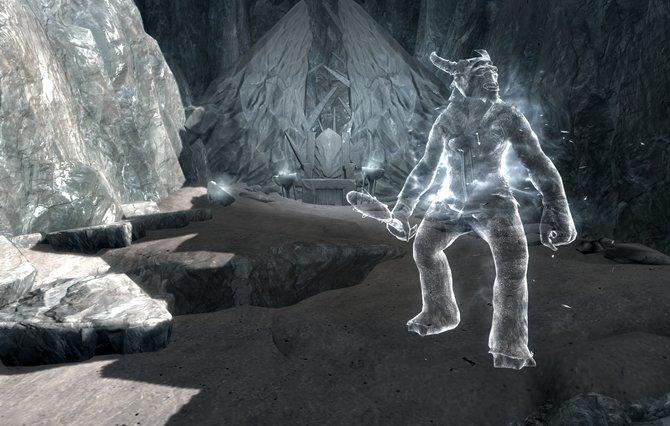 Karstaag auf Skyrim. Um diesen Bossgegner zu besiegen, müsst ihr zur Gletscherhöhle reisen. Dort packt ihr Karstaags Schädel ein, der in einer Eiswand steckt. Danach geht es zur Burg Karstaag sucht dort die Ruinen auf. Hier findet ihr einen Thron, auf den ihr den Schädel von Karstaag legt.