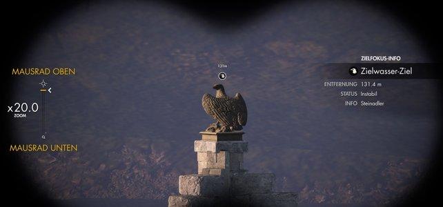 Um alle Steinadler in Sniper Elite 4 zu finden, braucht ihr gut geschärfte Adleraugen.