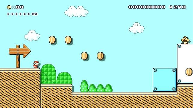 Mario weiß, dass der Kerl oben rechts seinen sicheren Tod bedeutet.