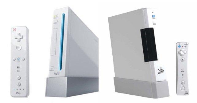 Wie vorherzusehen war, wollen viele Billigfirmen auf den Erfolgszug der Wii aufspringen. Rechts seht ihr den dummdreisten Klon eines chinesischen Unternehmens: die Vii. Etwa 300.000 Stück davon gehen über die Ladentheke.