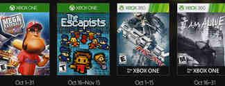 Xbox Games with Gold: Das sind die Gratis-Spiele im Oktober 2016