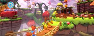 Vorschauen: Super Lucky's Tale: Auf der gamescom angezockt