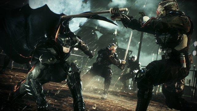 Nah dran: Auch im vierten und letzten Teil der Batman-Serie ist die Fledermaus im Nahkampf besonders durchschlagskräftig.