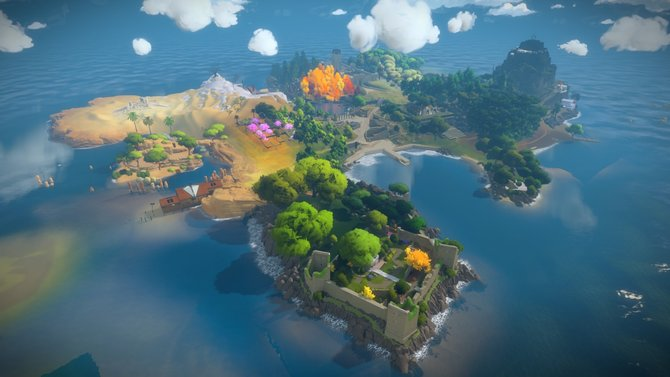 Eine Insel, nicht mit zwei Bergen sondern mit 650 Rätseln.