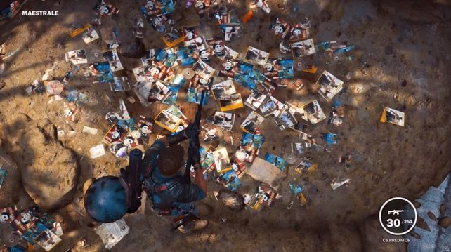 Ballert auf die Müllberge, um das Geheimnis zu enthüllen.