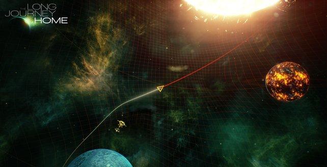 Ihr bereist Planeten und Raumstationen, erkundet Sonnen und entdeckt fremde Spezies.