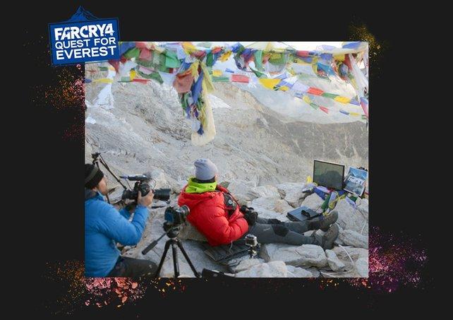 William Cruz spielt auf dem Mount Everest eine Runde Far Cry 4. Eine Reise, die er wohl nie vergessen wird!