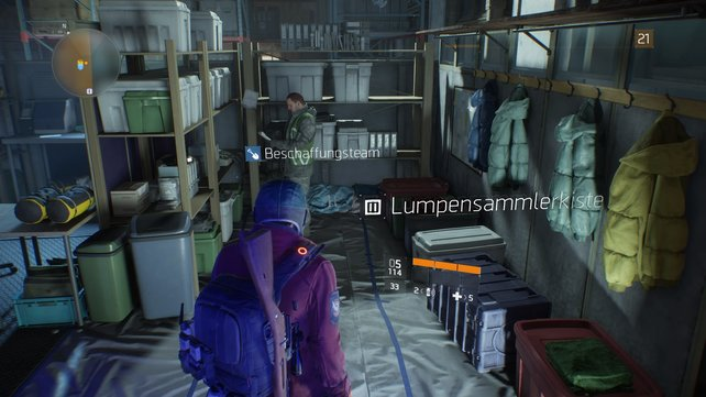 """Mit dem Vorteil """"Lumpensammler"""" findet ihr hier alle zwölf Stunden ein Kleidungsstück."""