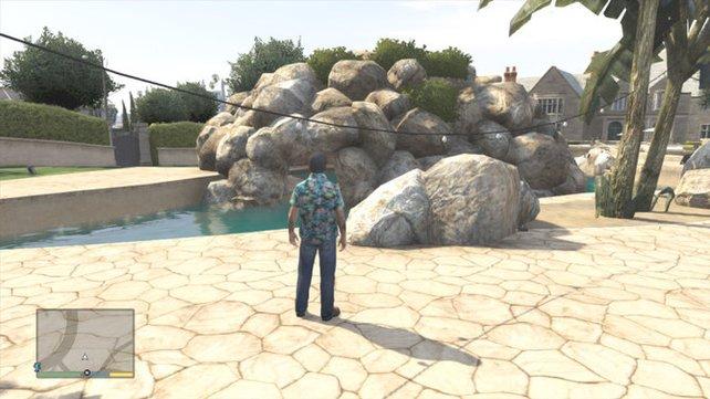 Gegenüber dem Golf-Club in Los Santos findet ihr einen Nachbau der Playboy Mansion.