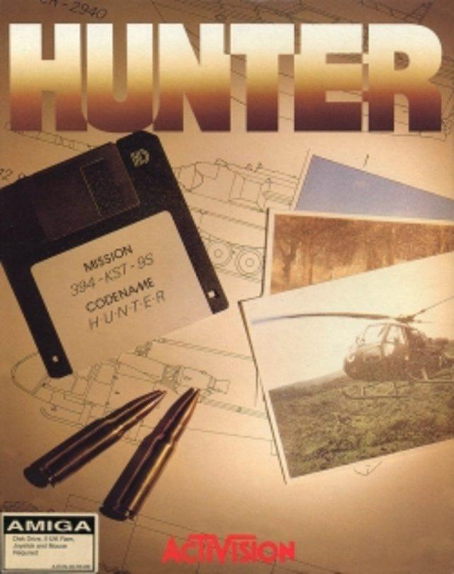 Hunter wurde 1991 in Eigenregie von Paul Holmes entwickelt und von Activision vertrieben
