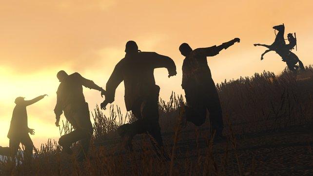 Im Wilden Westen sind die Zombies los: John Marston lädt schon mal den Revolver durch!