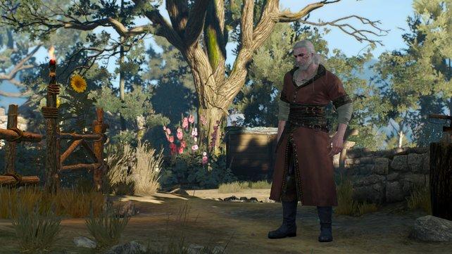 Geralt ist gar nicht wiederzuerkennen.