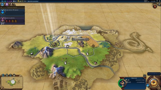 Die erste Stadt wird errichtet