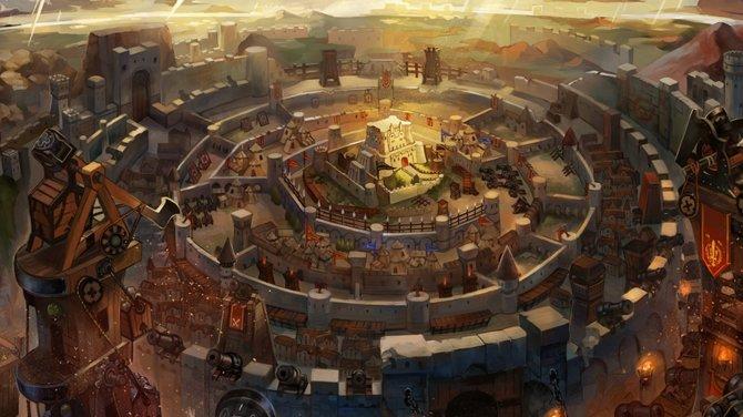 Grand Kingdom: Der Weg zu eurem Königreich führt euch durch viele Städte.