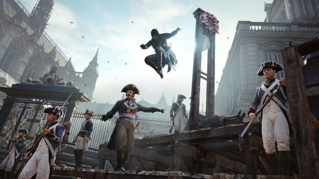 In den Wirren der Französischen Revolution agiert ihr als tödlicher Assassine.