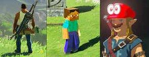 Zelda - Breath of the Wild: Modder bringt Charaktere aus GTA, Minecraft und Mario ins Spiel