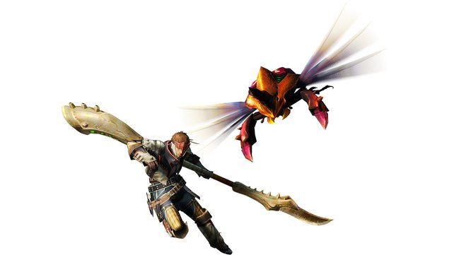 Die Insektenglefe gab es erstmals mit Monster Hunter 4 Ultimate und verschießt ein sogenanntes Kinsekt.