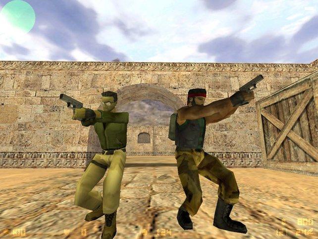 Counter-Strike: Der populäre Mehrspieler-Shooter geriet auch durch die Killerspiel-Diskussion ins Rampenlicht.