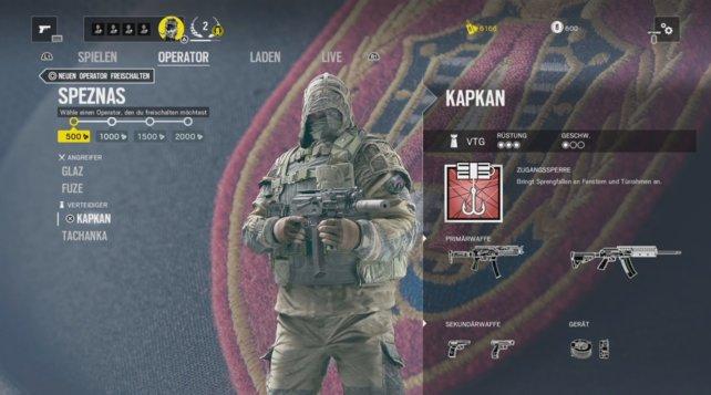 Operator Kapkan